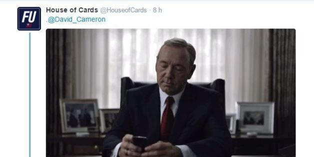 "La série ""House of Cards"" raille David Cameron éclaboussé par les ""Panama Papers"""