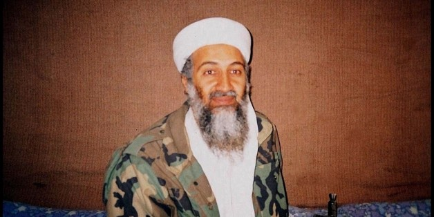 UNSPECIFIED: Osama Bin Laden during an interview by Pakistani journalist, Hamid Mir, near Kabul in 2001. During this interview Bin Laden stated that he has nuclear weapons. (Photo by MIR HAMID/DAILY DAWN/Gamma-Rapho via Getty Images)