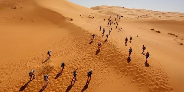 Top départ du Marathon des sables 2016