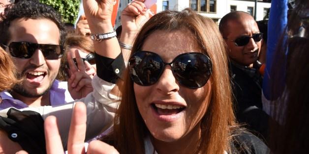 Samira Sitail, directrice de l'information de 2M