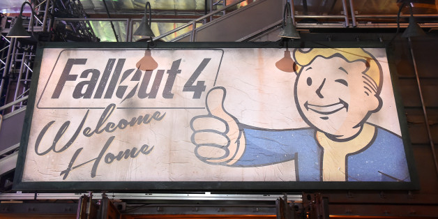 LOS ANGELES, CA - NOVEMBER 05:  General view of atmosphere at the Fallout 4 video game launch event in downtown Los Angeles on November 5, 2015 in Los Angeles, California.  (Photo by Mike Windle/Getty Images for Bethesda)