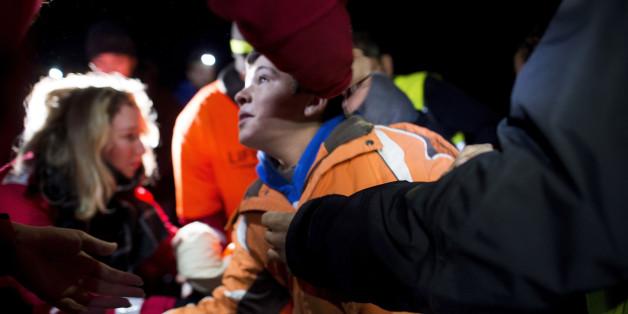 Symbolbild: Flüchtlingsjunge in Lesbos, Griechenland