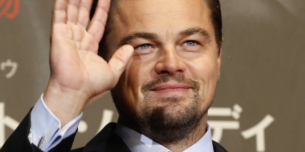 "American actor Leonardo DiCaprio waves for fans during the Japan premiere of his new movie ""The Revenant"" in Tokyo, Japan, Wednesday, March 23, 2016. (AP Photo/Shizuo Kambayashi)"