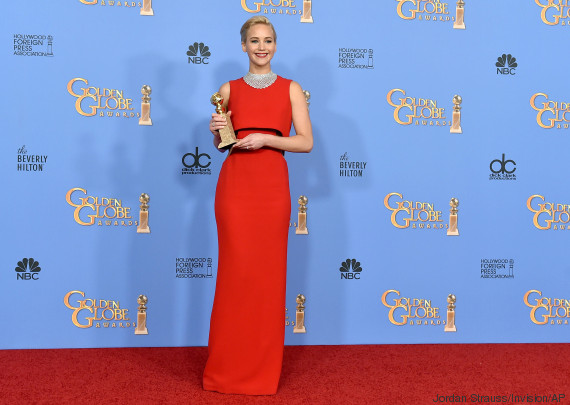 jennifer lawrence golden globe