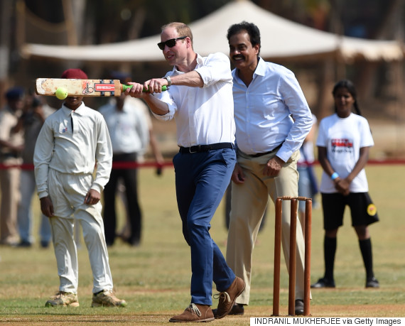 prince william cricket