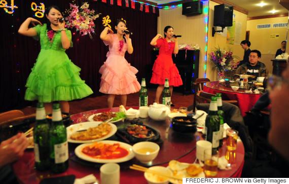 north korea restaurant