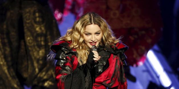 Madonna hat ihren Sohn Rocco wieder getroffen