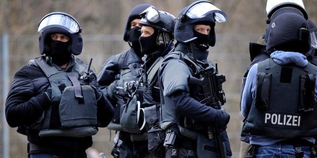Beamte einer SEK-Einheit in Köln (Symbolbild)