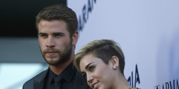 Miley Cyrus und Liam Hemsworth waren auf diesem Bild noch ein Paar (Archiv)