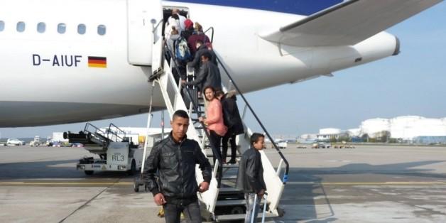 Le 10 avril, des enfants du village Adghagh An Mersa se sont envolés pour le Norvège