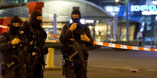 Der Flughafen Schipol bei Amsterdam wurde heute Nacht zeitweilig evakuiert