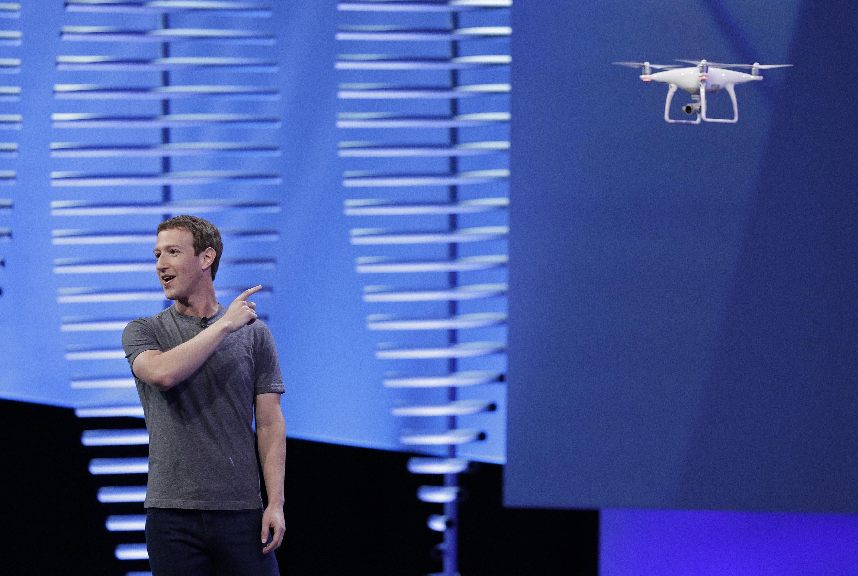 zuckerberg drone
