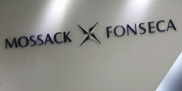 The company logo of Mossack Fonseca is seen inside the office of Mossack Fonseca & Co. (Asia) Limited in Hong Kong, China April 5, 2016.      REUTERS/Bobby Yip