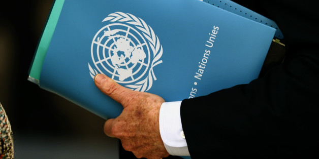 United Nations Special Envoy for Syria Staffan de Mistura holds a folder aside of the 31st Session of the Human Rights Council at the U.N. European headquarters in Geneva, Switzerland, February 29, 2016.   REUTERS/Denis Balibouse