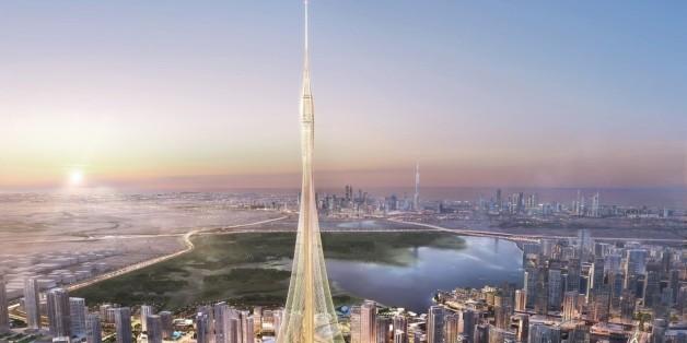 La tour d'observation à Dubaï