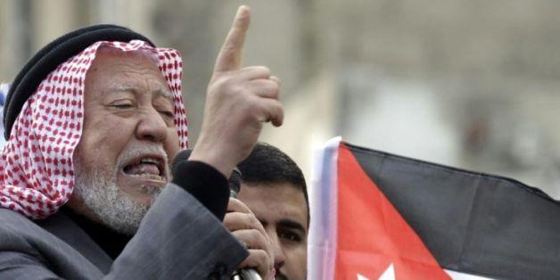 Hamza Mansur, l'un des chefs des Frères Musulmans, le 28 novembre 2014