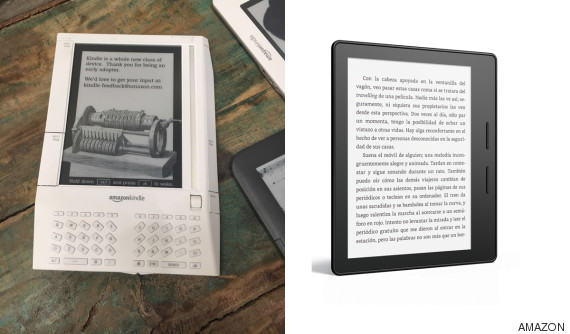 evolucion kindle