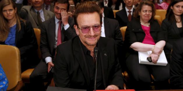 Bono kämpft für Flüchtlinge