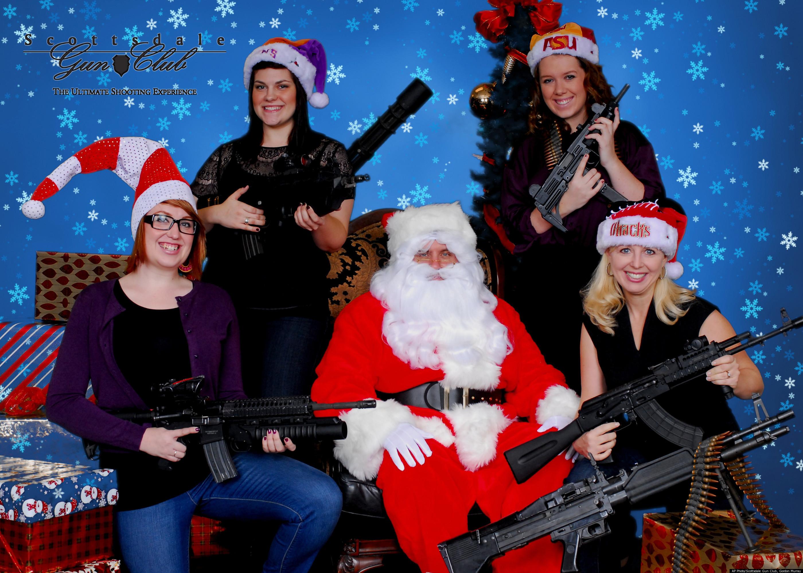 Machine Guns And Santa Claus Arizona Gun Club Offers Alternative
