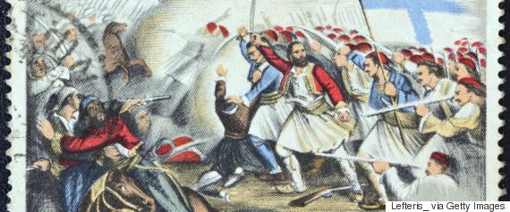 greek revolution painting
