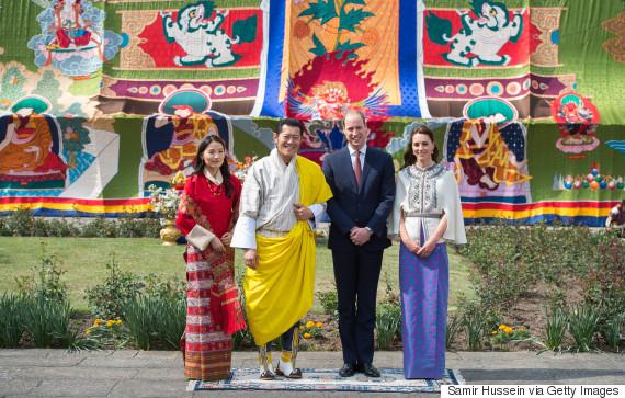 bhutan will and kate
