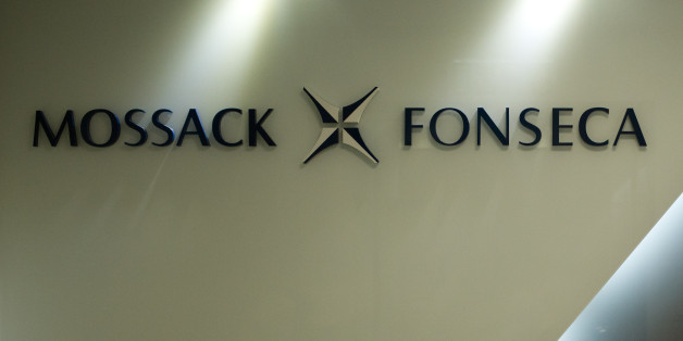 The logo of Panama law firm Mossack Fonseca is seen at the entrance of its Hong Kong office on April 14, 2016.The so-called Panama Papers, released by the International Consortium of Investigative Journalists this month, have exposed a key role played by Hong Kong and Singapore in funnelling wealth into tax havens. Mossack Fonseca's Hong Kong offices were their busiest in the world, the ICIJ analysis showed, setting up thousands of shell companies including some linked to China's top political b