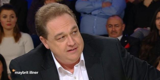 """Der Komiker Oliver Kalkofe bei """"Maybrit Illner"""""""