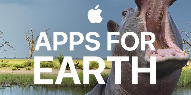 """Zum """"Earth Day"""" startet Apple gemeinsam mit dem WWF die Aktion """"Apps for Earth""""."""