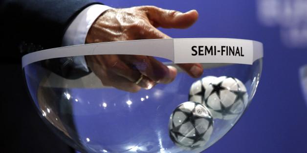 Am Freitag findet die Auslosung für das Halbfinale der Champions League statt