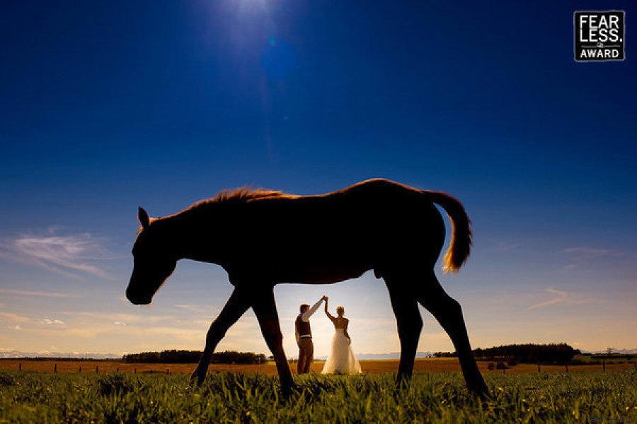 boda caballo