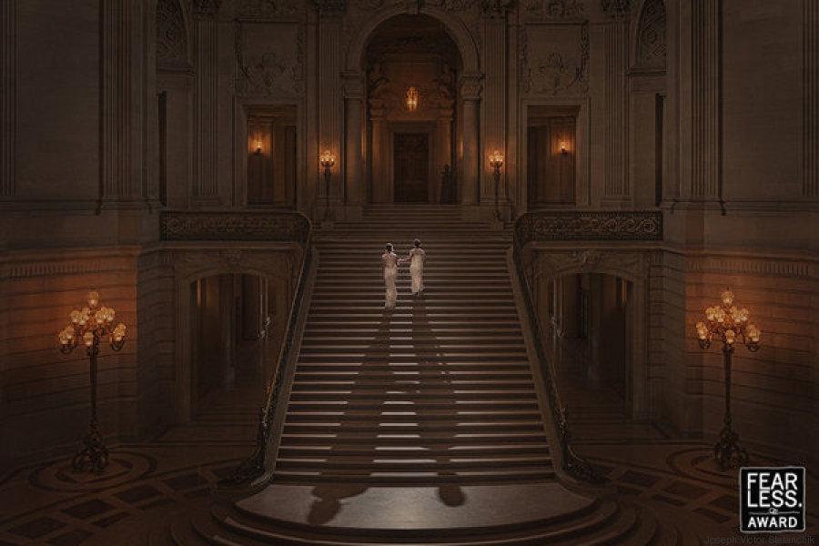 boda escaleras