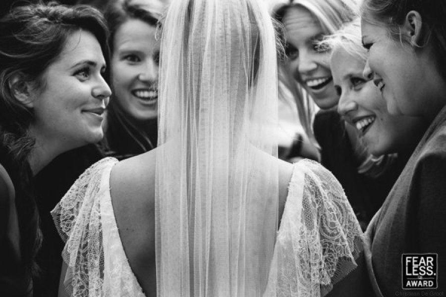 boda amigas novia