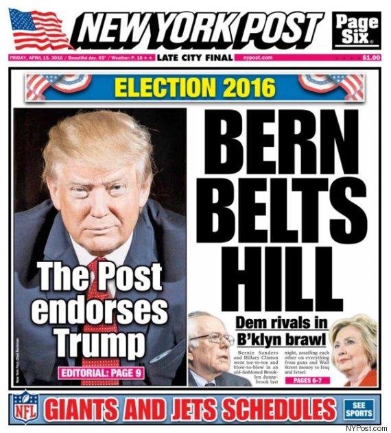 new york post donald trump