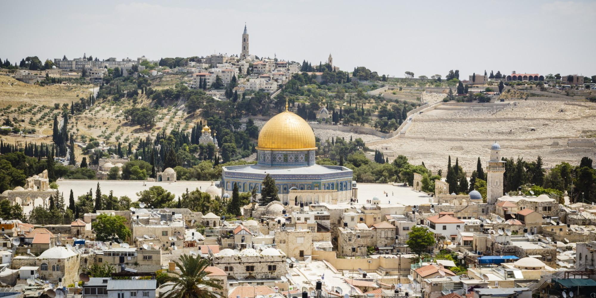 Israels Absurd Map Of Jerusalems Old City  HuffPost