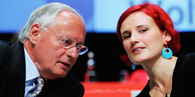 Oskar Lafontaine schiesst gegen Linken-Chefin Katja Kipping