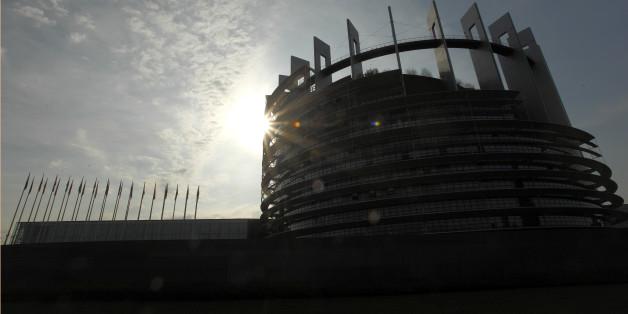 Das EU-Parlament in Strasbourg