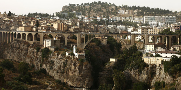A bridge is seen in the eastern city of Constantine June 21, 2012.           REUTERS/Zohra Bensemra (ALGERIA - Tags: CITYSPACE ENVIRONMENT)