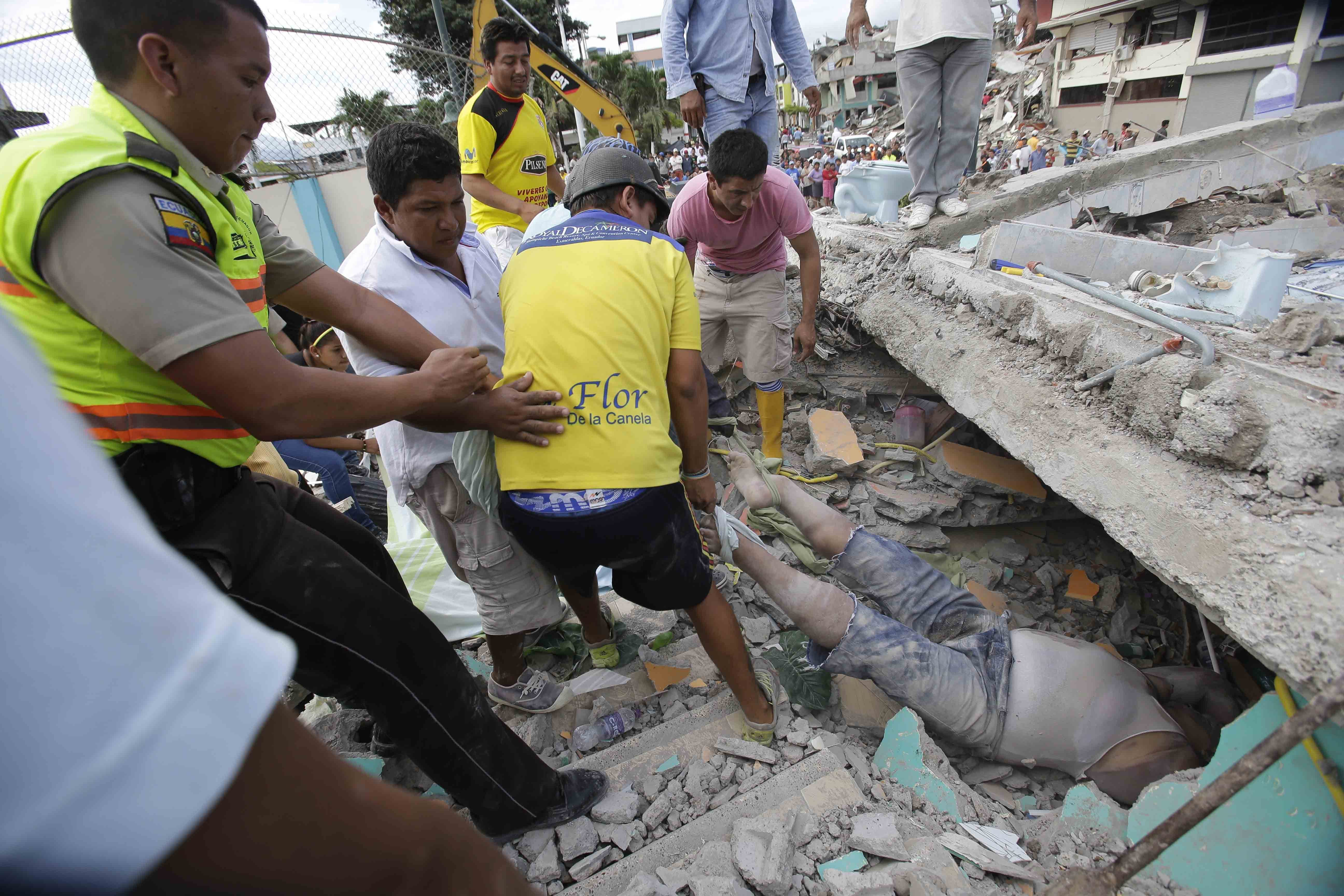 earthquake ecuador