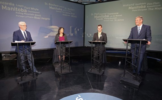 manitoba election leaders debate