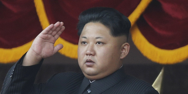 """In this Oct. 10, 2015, file photo, North Korean leader Kim Jong Un salutes at a parade in Pyongyang, North Korea. It's a single image released by an enormous propaganda apparatus, showing a note handwritten by a dictator. And it contains a telling clue to the mindset behind what has become the biggest story in Asia: North Korea's surprise and disputed claim to have tested its first hydrogen bomb. The Dec. 15, 2015, note from leader Kim Jong Un calls for a New Year marked by the """"s"""