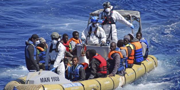 400 Flüchtlinge bei Überfahrt nach Italien im Mittelmeer ertrunken