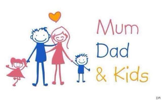 logo mum dad kids