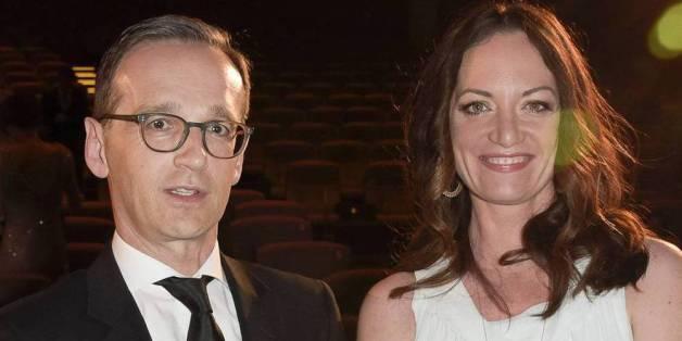 Heiko Maas und Natalia Wörner bei der Verleihung des Deutschen Schauspielerpreises 2015 in Berlin