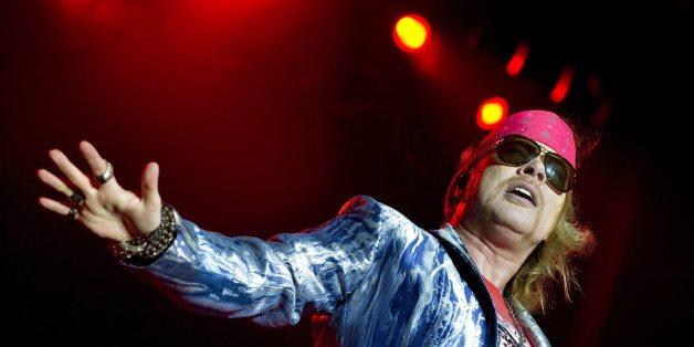 Axl Rose von Guns N' Roses hilft bei AC/DC