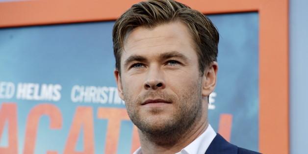 Chris Hemsworth erzählt von einem Gespräch mit seiner kleinen Tochter - es ging um einen Penis.