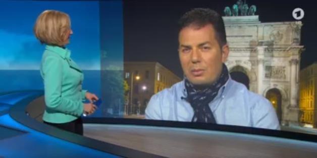 "Hamed Abdel-Samad im ARD-""Nachtmagazin"""