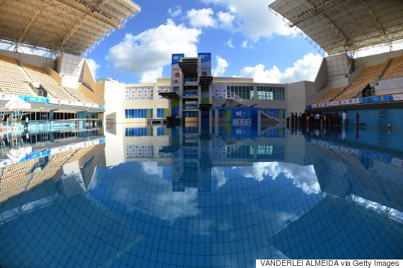 rio olympic park aquatic centre
