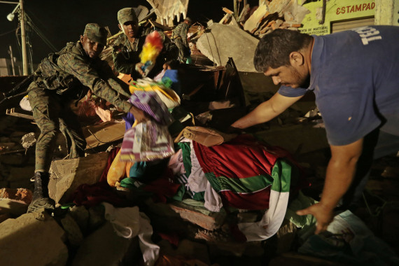portoviejo ecuador earthquake