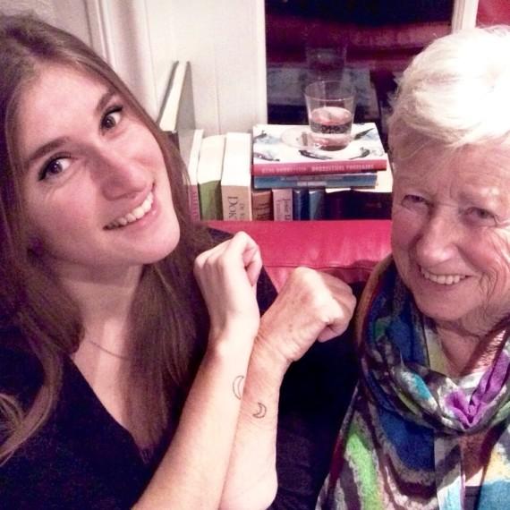 grand mère nouvelle génération