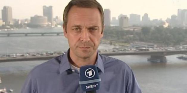 Der ARD-Korrespondent Volker Schwenk